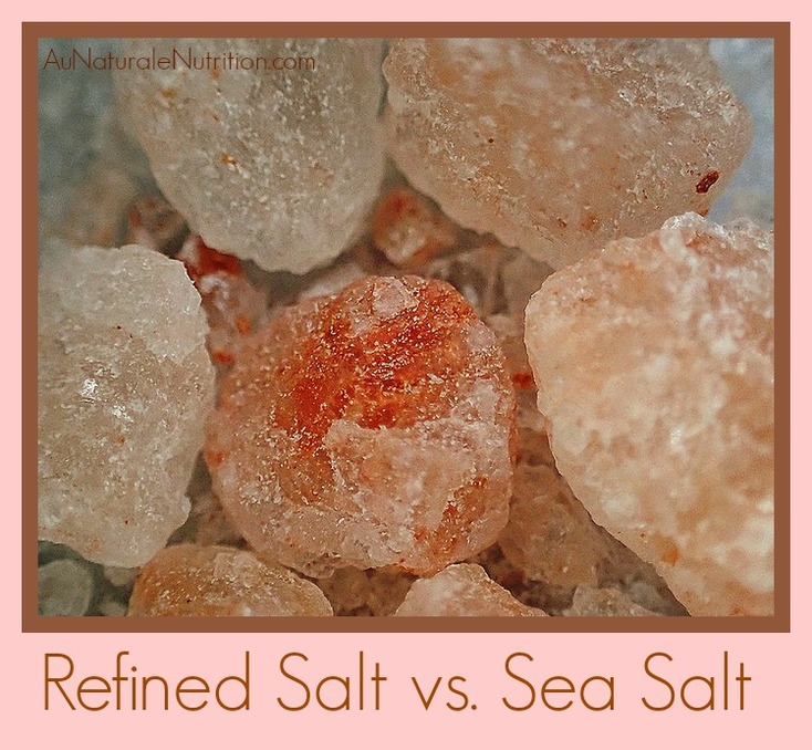 Table Salt vs. Natural Sea Salts: What the Difference Means for your Health.  An in-depth look at how refined salt is detrimental to your well-being, yet how natural salts provide lovely health benefits.