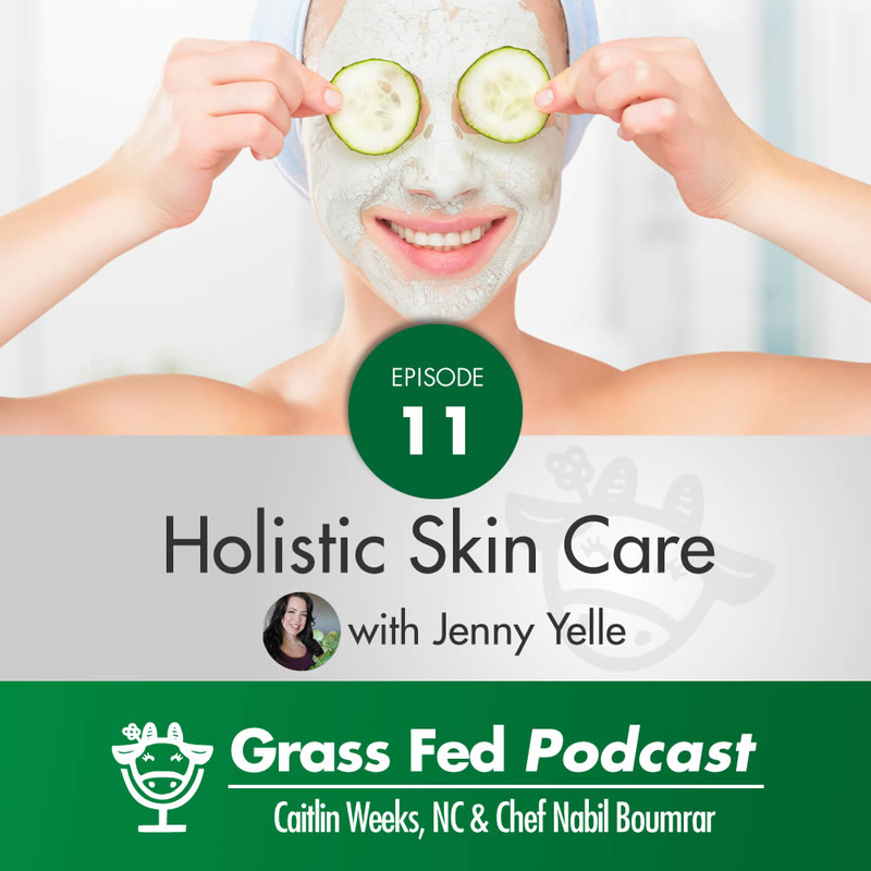 Are you concerned about the aging of your skin? Grass Fed Girl, Caitlin, interviews Jenny Yelle, of Au Naturale Nutrition, about the roles nutrition and a holistic lifestyle play in aging gracefully and having beautiful, youthful skin. It's a great listen! www.AuNaturaleNutrition.com