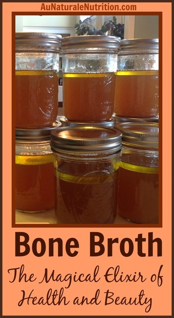 Bone Broth makes you healthy & beautiful! Great for the gut and your skin. A slow-cooker recipe.