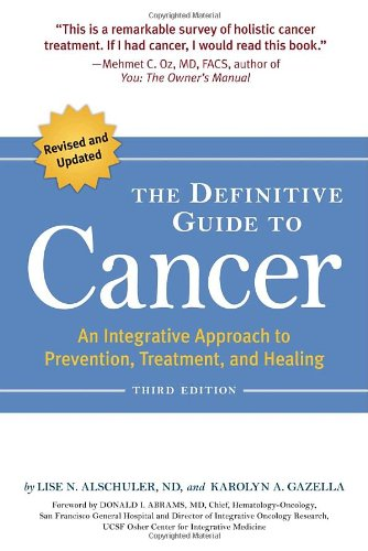 Source book: What exactly is Cancer?  The hallmarks of the disease. How common is cancer?  An article by Jenny at www.AuNaturaleNutrition.com