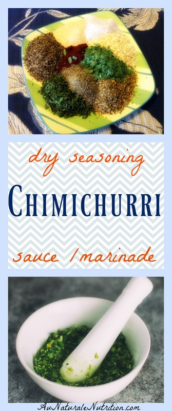 Are you tired of using the same old spice combinations?  Try chimichurri! It originates from South America and has a fantastic flair of flavor that can can be used as a versatile, all-purpose spice in your kitchen and on the grill.  It's a winner!