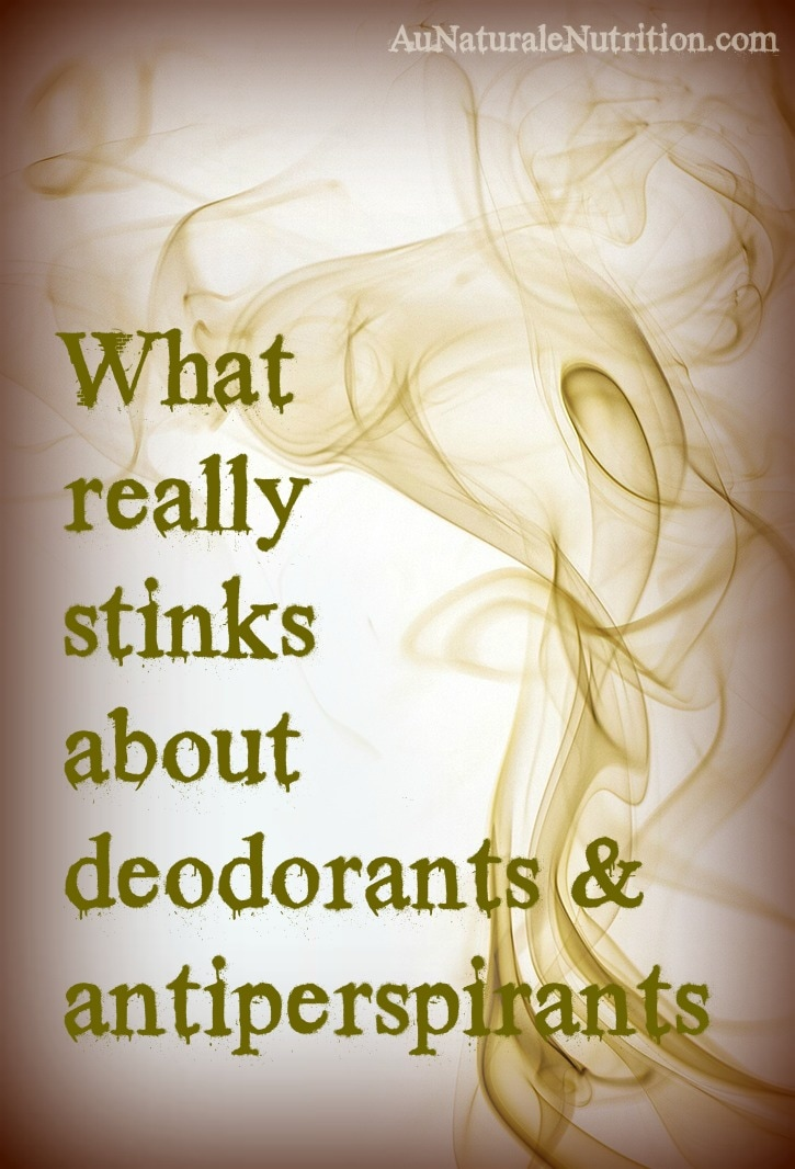 Which toxic chemical ingredients to avoid in conventional deodorants and antiperspirants - and why. Better alternatives.