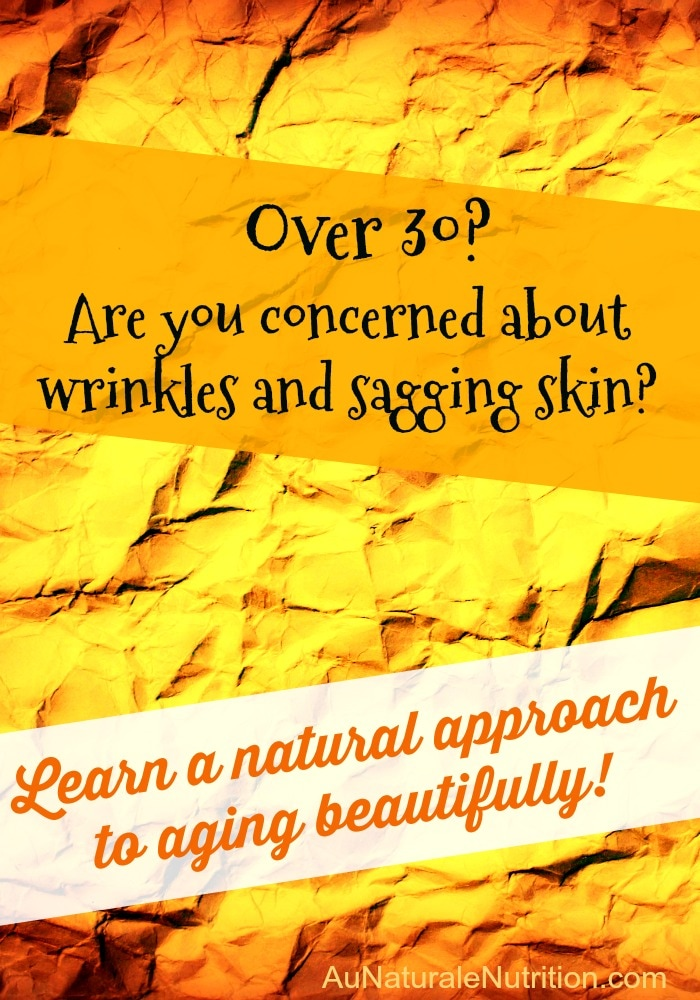 Time Defying Skin (e-course):  A natural approach to aging beautifully. Use nutrition to look young for your age, feel vibrant, and live longer!