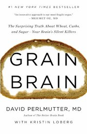 Book by Dr. Perlmutter, reccommended from GLUTEN:  The short=term symptoms and the long-term health consequences.  By Jenny at www.AuNaturaleNutrition.com