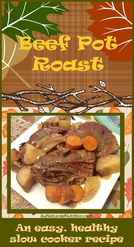 When I think of a home cooked meal, this beef pot roast is what always pops into my head first.  There's something grounding about it; probably because it's so nutritious.  And if you're new to cooking, this easy meal is a great place to start. Welcome home! (gluten free, paleo, organic, slow cooker recipe)