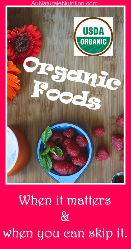 Organic Foods: Are they worth the cost?  What are the health benefits?  What does the organic symbol really mean?  Which foods are especially important to buy organic?