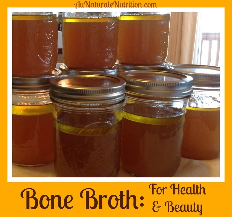 Bone Broth makes you healthy & beautiful! A slow-cooker recipe. by www.aunaturalenutrition.com