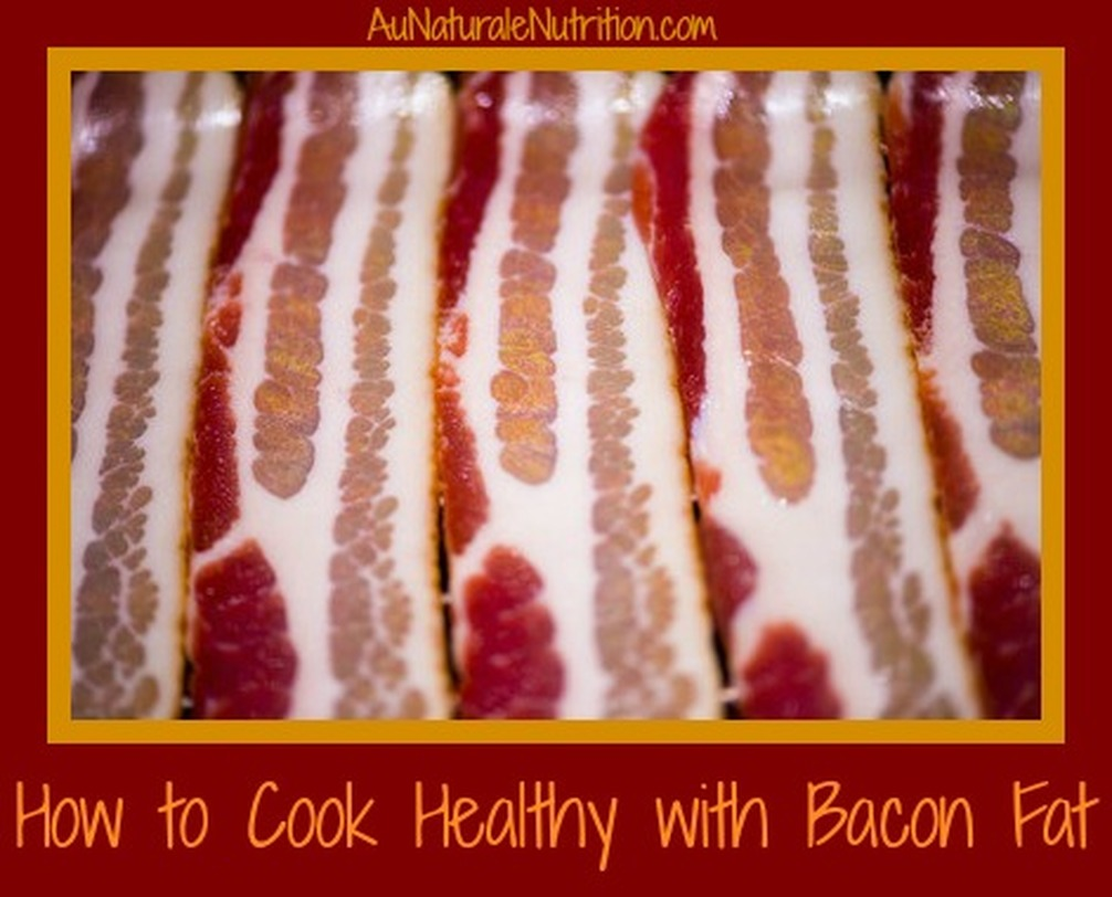 Cooking healthy with bacon fat, YUM! Plus, a recipe for Cheesy Bacon Biscuits (low-carb, gluten-free, paleo/primal)  By www.AuNaturaleNutrition.com