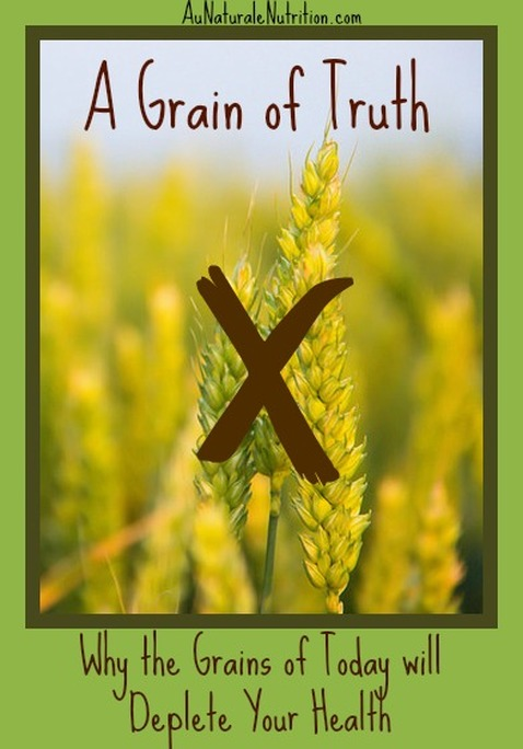 A Grain of Truth:  Why the Grains of today are detrimental to health.