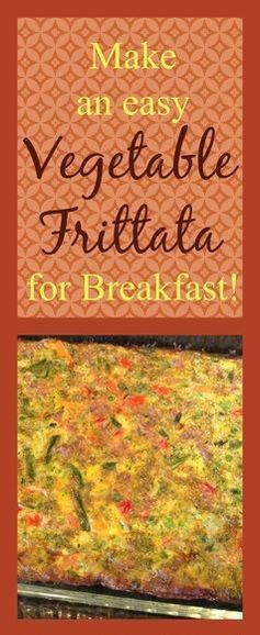 Vegetable Frittata - Au Naturale! Great for busy mornings!  Make ahead and enjoy all week!  If you can stir, you can make it - it's that easy! (breakfast, paleo, primal, gluten-free, low carb). by Jenny www.aunaturalenutrition.com