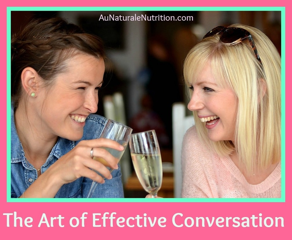 Effective listening and asking the right questions helps us to get to know others better and enriches our lives. Here are a few tips to improve your communication skills and enrich your interactions with others.  By Jenny at www.AuNaturaleNutrition.com