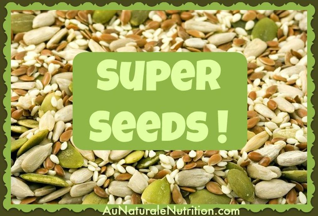 The Spectacular Nutrition from Seeds & Sprouts!  Seeds and sprouts may be quite little in size, but they're a very big deal with huge nutritional benefits and an important job.  They're so very good for your health!  By Jenny at www.AuNaturaleNutrition.com