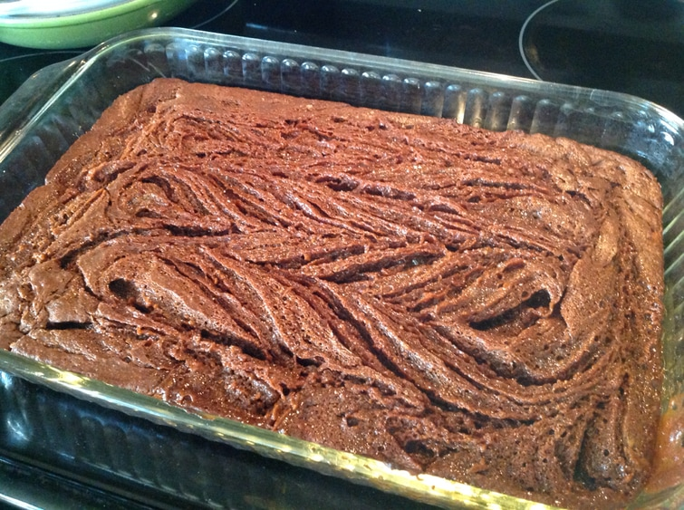 Swirly Caramel Brownies with Nutbutter.  Ooey, gooey goodness!! (Paleo & gluten free)  By www.AuNaturaleNutrition.com