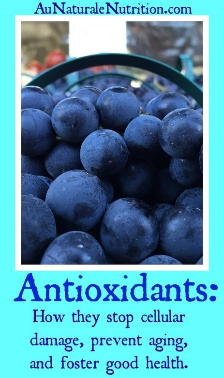 Be Beautiful with Antioxidants:  The sources & how the foster health and beauty.  Plus, how they prevent cellular damage, aging, and disease.