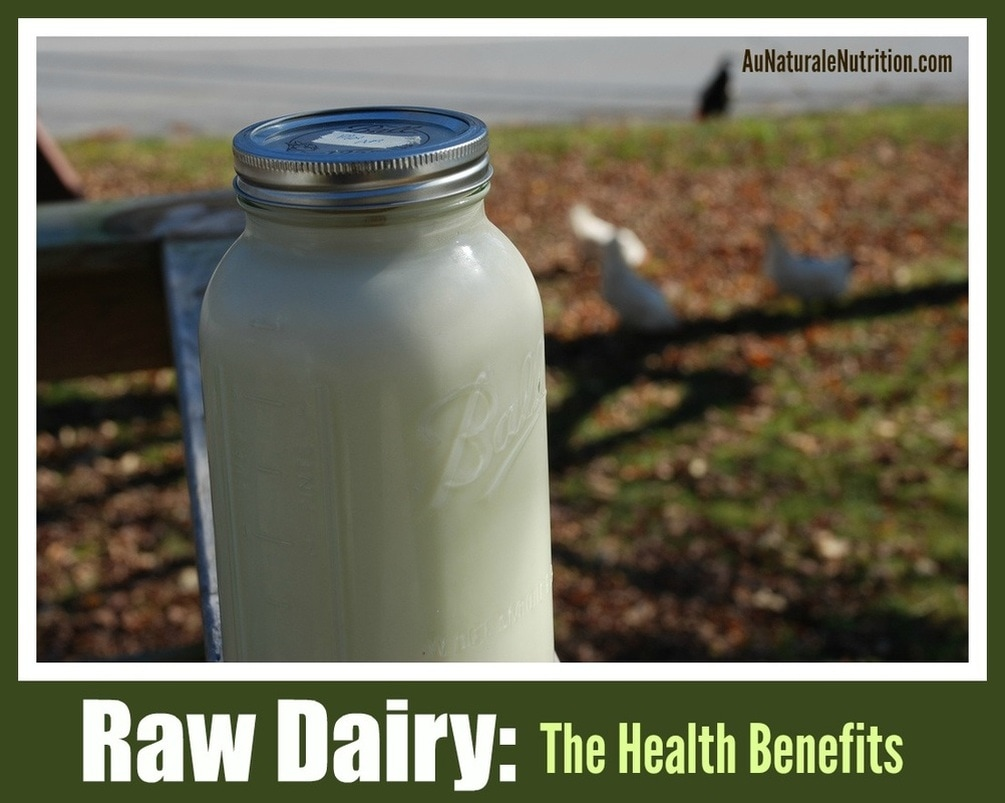 All about RAW dairy vs. conventional dairy products.  The health benefits, the controversy, and where to find it.  By www.AuNaturaleNutrition.com