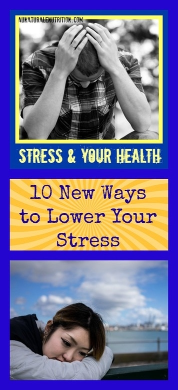 Feeling stressed?  Here are 10 ways to help you relieve your stress, feel better, and improve the health of your mind and body.