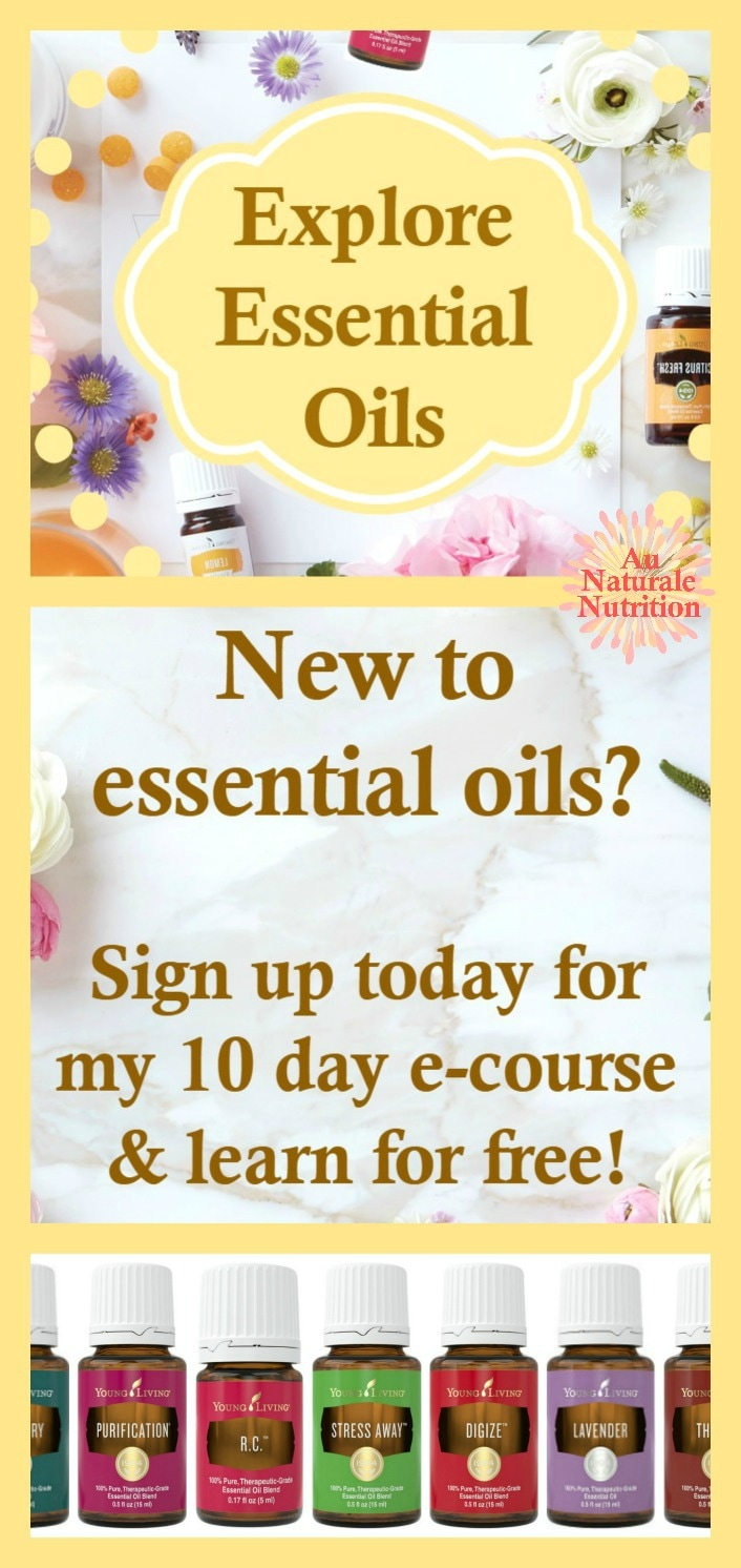 Have you noticed the popularity of essential oils lately? Learn all about them at home with this FREE email course. NO high-pressure sales pitch - just great information!  Sign up & learn today.