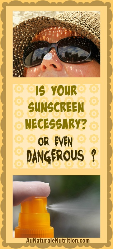 Take A Critical Look at Your Sunscreen:  Are you using too much?  Too little?  Is it toxic?  Learn how to choose the best sunscreens for yourself and your family.